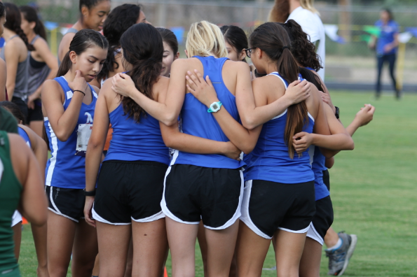 Americas Girls Huddle - Canutillo Invitation 2018