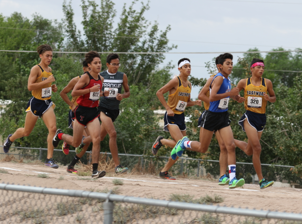 Eastwood pack surrounds runners - Canutillo 2018
