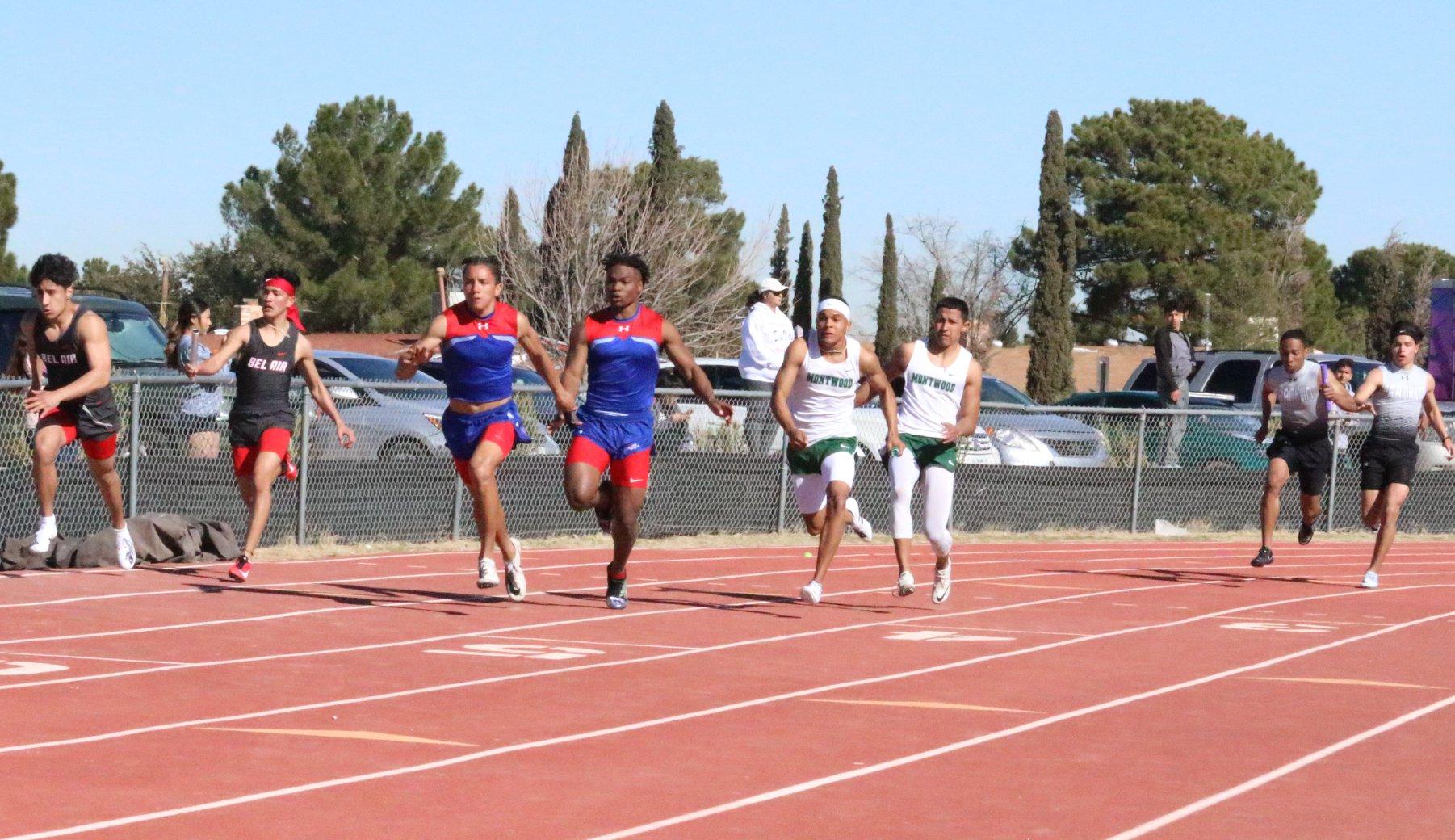 Boys relay